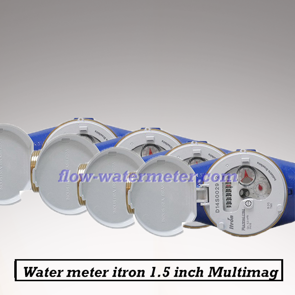 Water meter itron 1-1/2 Inch Multimag