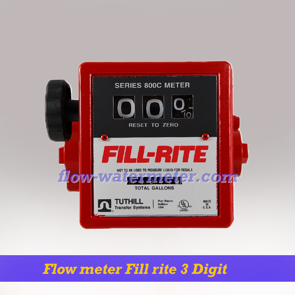 Flow meter Fill-Rite 3 Wheel Mechanical