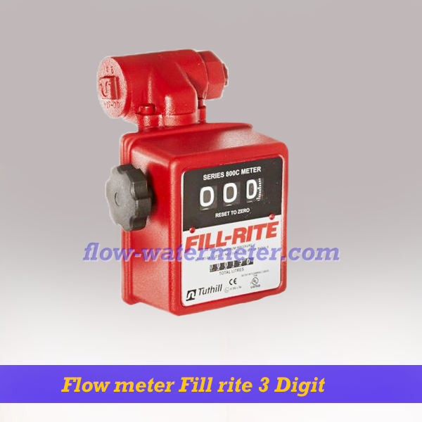 Flow meter Fill-Rite 3 Digit