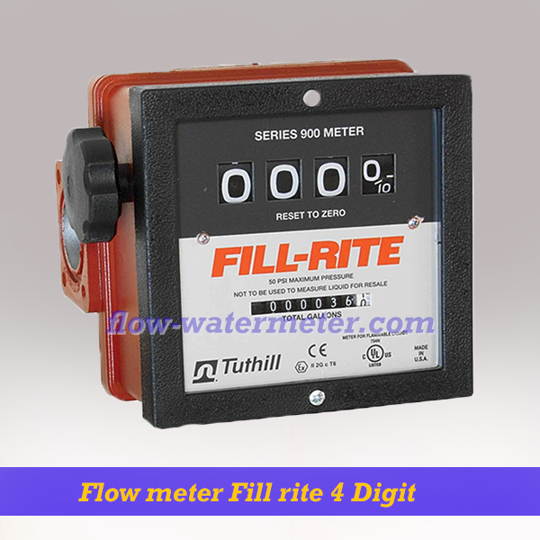 Flow meter Fill Rite 4 Digit