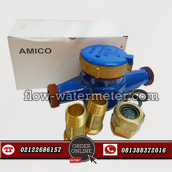 HARGA WATER METER AMICO 1/2 INCH